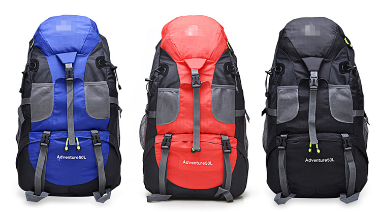 50l Outdoor Backpack Waterproof Camping Bag For Mountaineering Hiking Backng